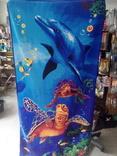 Полотенце пляжное 140х70см Дельфин