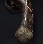 Старинный кремниевый пистоль Инкрустация Деко photo 10