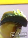 """Фарфоровая  статуэтка """" Дама в шляпке """" оккупированная Япония Jand painted 1945-1961год, фото №8"""