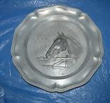 Декоративная настенная тарелка Германия, фото №2