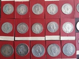 Коллекция серебряных монет photo 3