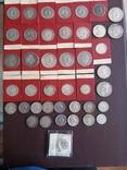 Коллекция серебряных монет photo 1