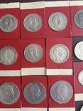 Коллекция серебряных монет photo 5