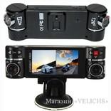 Видеорегистратор CARWAY F600 2 камеры ночная съёмка режим SOS photo 1