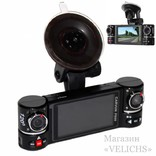 Видеорегистратор CARWAY F600 2 камеры ночная съёмка режим SOS photo 6