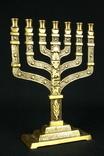 Менора. Hen Holon Israel. Семисвечник. Бронза. Израиль. (0495) photo 2