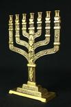 Менора. Hen Holon Israel. Семисвечник. Бронза. Израиль. (0495) photo 3