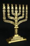 Менора. Hen Holon Israel. Семисвечник. Бронза. Израиль. (0495) photo 1