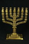 Менора. Hen Holon Israel. Семисвечник. Бронза. Израиль. (0495) photo 8