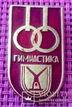 Знак гимнастика кольца, спорт ссср, фото №2