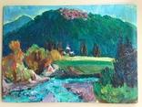 Картина Володимира Патика 1970 рр. Масло, картон полотно.