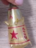 Елочная игрушка Ракета, старая, СССР, Мир photo 4