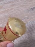 Елочная игрушка Ракета, старая, СССР, Мир photo 5