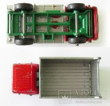MATCHBOX модель Матчбокс 26 Regular Wheels GMC Tipper Truck VGC самосвал England 1968г., фото №6