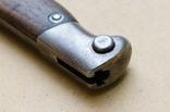 Штык обр. 1891 г. к винтовке Маузера для Аргентины, парный, клеймо Золинген photo 11