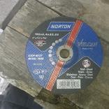 Круг зачистной NORTON 180*6.4*22.23 photo 1