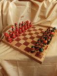 Шахматы тематические росписные photo 2
