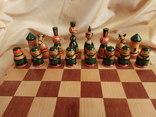 Шахматы тематические росписные photo 4