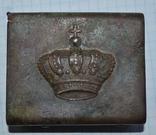 Пряжка королевского гвардейца Румыния photo 1