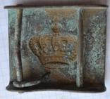 Пряжка королевского гвардейца Румыния photo 2