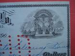 США чек 1912 год на 319,08$ photo 2