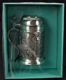 Кружка пивная коллекционная Новая Бокал Сертификат W.Germany