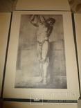 1949 Альбом рисунков обнаженных мужских тел Огромного формата 58 на 42 см. photo 5