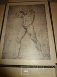 1949 Альбом рисунков обнаженных мужских тел Огромного формата 58 на 42 см. photo 6