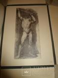 1949 Альбом рисунков обнаженных мужских тел Огромного формата 58 на 42 см. photo 7