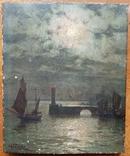"Картина ""Маяк"" 19 век"