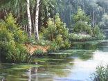 Пейзаж. . Олія,полотно 40х60 см підпис автора. photo 2
