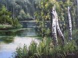 Пейзаж. . Олія,полотно 40х60 см підпис автора. photo 4