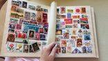 Альбом с марками 745 шт photo 3