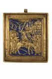 """Литая икона """"Вход Господень в Иерусалим"""" photo 1"""