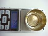 Серебряная солонка 1894 года 24.8 грамма photo 2