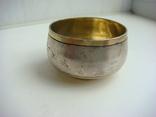 Серебряная солонка 1894 года 24.8 грамма photo 4