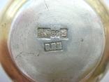 Серебряная солонка 1894 года 24.8 грамма photo 11