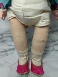 Антикварная кукла девочка-азиатка в красивом сложном наряде photo 8