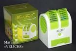 Мини USB кондиционер вентилятор увлажнитель Electric mini Fan photo 8