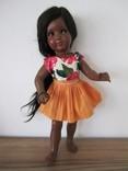 Кукла шилдкрёт Мануела. Натуральные волосы. Германия 50ые.