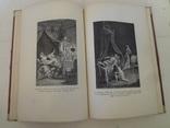 1914 Искусство Рококо с эффектными гравюрами на меди офортов