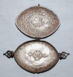 Подвеска коробочка серебряная. фото 11
