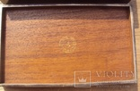 Серебряная шкатулка\хьюмидор, 426 грамм., фото №5
