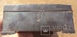 Серебряная шкатулка\хьюмидор, 426 грамм., фото №10