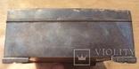 Серебряная шкатулка\хьюмидор, 426 грамм., фото №12