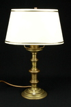 Латунный светильник. Лампа. Винтаж. Европа. (0532)