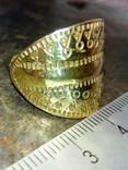 Реконструкция-Пластинчатый перстень  Киевская Русь 10-12 век Реплика), фото №3
