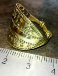 Реконструкция-Пластинчатый перстень  Киевская Русь 10-12 век Реплика), фото №6