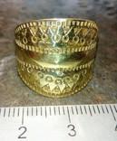 Реконструкция-Пластинчатый перстень  Киевская Русь 10-12 век Реплика), фото №8