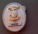 Знак офицера береговой охраны США, 2 звезды, щит и якорь., фото №2